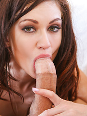 Kendall Spreads Tight Little Pussy For Big Dick