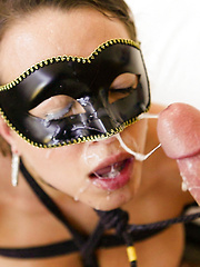 Masked Beauty Fucked In Wet Pussy