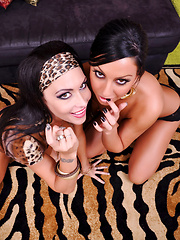 Fat Cock Fat Facial Pics - Jessica Jaymes and Tiffany Brookes are two best friends that love to share everything