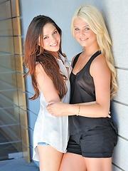 Cassie and Chloe hot lesbians