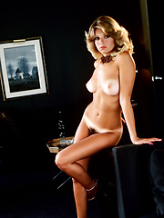 Visiting Chicago with a friend, Ruth stopped by the Playboy Model Agency to drop off her modeling portfolio. Recalling that magical visit in her Playmate Data Sheet she wrote,