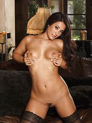 Kara moves her body seductively
