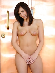 Zeba shows off her wet and sweet pussy