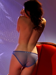Playful Fawna Bares It All