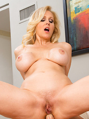 Julia Ann is hot and horny and wants to be fucked in her ass by her big cocked boyfriend.