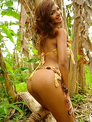 Karla proves that she is the queen of the jungle