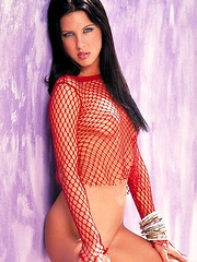 Destiny St. Claire - has a natural young bod, jet black hair, and ice blue eyes