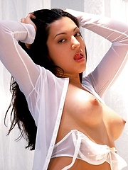 Blake - shows off her fresh young latina curves