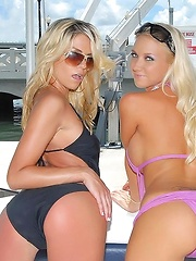 Come check out marlie and mollly on this yacht in these amazing lesbian movies n pics