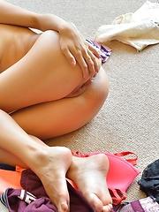 Nina More Upskirt Teases