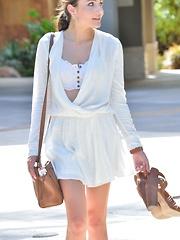 Adria Slender In White