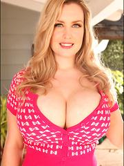 Brooke Britt debuts in pink lace