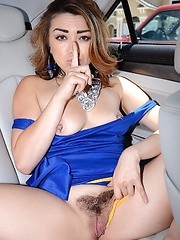 She got her pussy munched on and sucked that cock nicely then angelina  hopped on that cock and rode that dick as her round juicy ass bounced all over